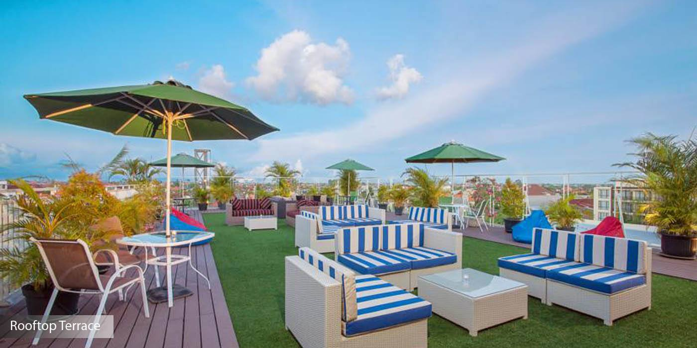 Vibrant lifestyle place in the legendary center of kuta bali boutique stylish and comfortable rooms and enthusiastic and upbeat staff sun boutique will